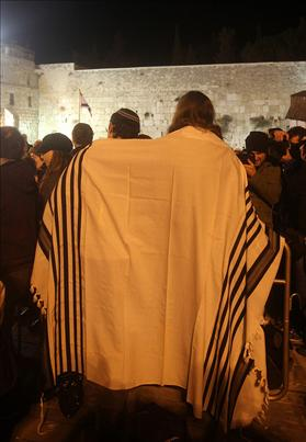 Releasing the Kotel. March and prayer against the surrender of the Kotel to the extremists. Hanukkah 5770
