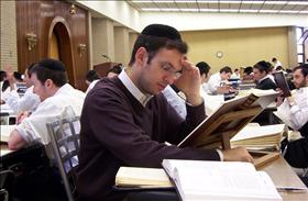 The number of Haredi yeshiva students has fallen for the past 5 years