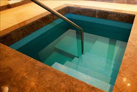A mikva, a bath for Jewish ritual immersions